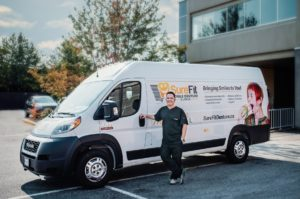 Mobile Denture Clinic vehicle in Surrey